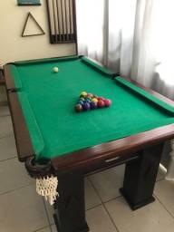 Mesa Sinuca - Bilhar completa + mesa ping-pong