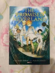 Título do anúncio: mangá volume 1 de the promised neverland