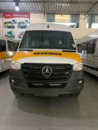 Título do anúncio: Mercedes Benz Sprinter 416 extra longa completa com 28 lugares padrão escolar