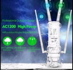 Wavlink AC1200 Ponto de acesso/repetidor/roteador sem fio. APROVA D'ÁGUA