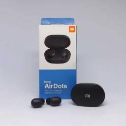 Fone de ouvido In-ear sem fio Xiaomi Redmi AirDots preto