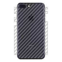 Película traseira fibra de carbono iPhone 7 8 7plus 8plus X Xs XR