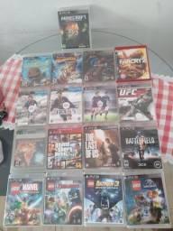 Jogos PS3 (vendo a 15,00 cada se comprar tudo