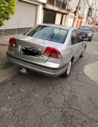 Honda Civic 2003 prata Lx 1.7