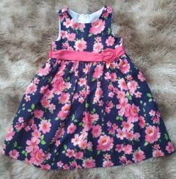 Vestido Infantil Estampado