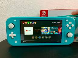 Nintendo Switch Lite c/ Jogo Pokémon Sword