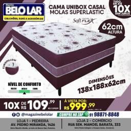 Título do anúncio: Cama Unibox Casal Molas Superlastic