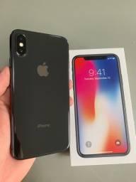 iPhone X 64GB Preto / Conservado