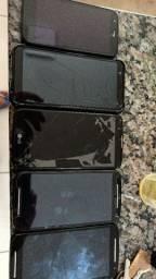 Vendo todos esses telefones