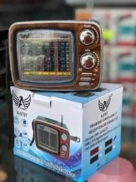 Rádio Retrô Modelo Tv