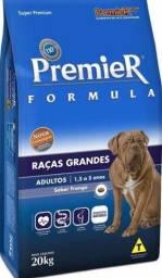 Ração premier 20kg raças grandes promoção