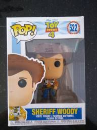 Funko Pop! Sheriff Woody #522 - Toy Story 4, NOVO, Original