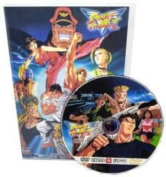 Box Dvd Street Fighter 2 Victory Dublado + 4 Filmes + Ova