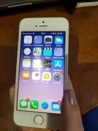 IPHONE 5s.  32 gigas ok .. Biometria ok .. Todo original. Lindo.. Cabo e CARREGADOR.