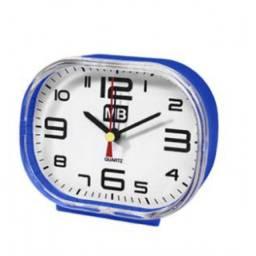 (WhatsApp) relógio de mesa despertador oval - el1338re