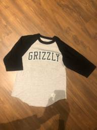 Camiseta 3/4 diamond grizzly M
