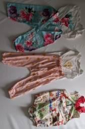 Conjuntos de verão para menina de 1 ano