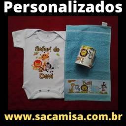 Caneca / Body Infantil /Toalha de rosto / Camisa - Personalizados