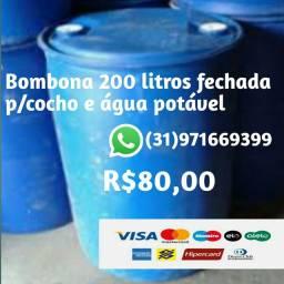 Bombona 200 Lts fechada