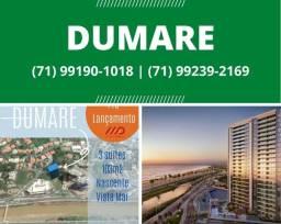 Oportunidade -Dumare Lançamento 2021 - Vista mar, 3 suítes, 103 m².Surreal