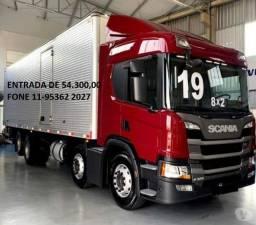 Scania P 320 Bitruck com Baú Facchini ano 2019
