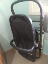 Título do anúncio: Carrinho e Bebê Conforto Safety 1st Bege