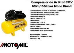 Compressor motomil 10pl/100l