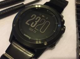 Relógio Garmin Fenix 3 - Sapphire Bundle