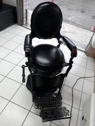 Cadeira de barbeiro reliquia