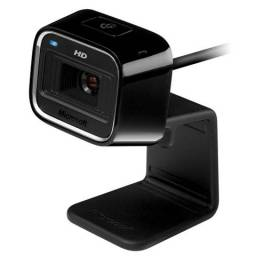 Webcam Microsoft LifeCam HD-5000 7ND-00012 com Microfone Integrado