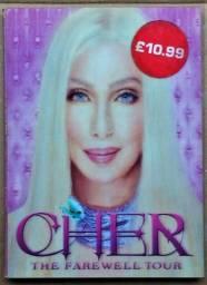 Dvd Cher - The Farewell Tour - Europeu Capa Holográfica