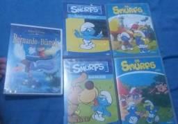 Pacote de dvds infantis original