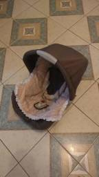 Bebê conforto unisex marrom