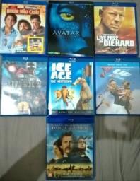 7 Blu Rays