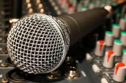 Estúdio de gravação para bandas