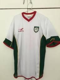Camisa da Portuguesa Oficial - 2002 ? G