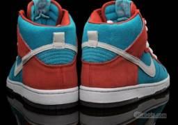 Nike Dunk Hi SB Bloody Gums Premium