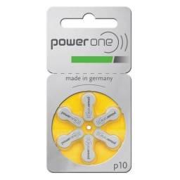 c6e98c204 Bateria / Pilha Auditiva Power One P10 Pr70 (6 Unidades)