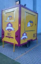 Food Trailer Truck 2,50 X 1,80m 4M Food Trailer Brasil 2017