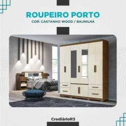 Roupeiro Porto no crediário R3