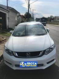 Honda civic lxr 16/16 - frota repasse - 2016