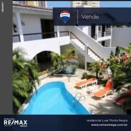 Apartamento com 1 dormitório à venda, 36 m² por r$ 90.000 - ponta negra - natal/rn