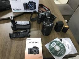Câmera fotográfica cânon eos 60D