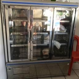 Vendo Freezer Expositor Vertical Três portas
