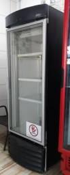 Expositor refrigerador metalfrio vertical cervejeira 220v 500 litros