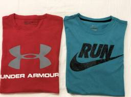2e80cc0e77c Camiseta Nike e Under Armour ORIGINAIS usada 2x
