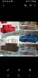 Vendo sofás retrátil reclinável novos no plástico tenho todas essas cores