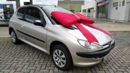 Peugeot 206 Presence 1.4 Flex Completo Impecável - 2007