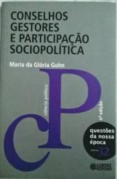 Livro Conselhos Gestores e Participação Sociopolitica
