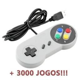 Controle USB de Super Nintendo para PC / Raspberry Pi / Android Box [+3000 jogos]